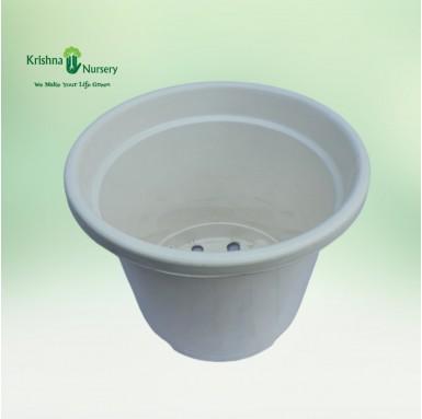 """10"""" White Pot"""